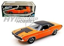 GREENLIGHT 1:18 FAST AND FURIOUS DARDEN'S 1970 DODGE CHALLENGER R/T ORANG 12947