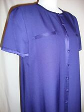 EVAN PICONE Sapphire Blue Button Lined Shoulder Pads Career Dress NWT 10