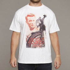 REPLIKA Jeans James Dean Camiseta/Blanco - 2XL SRP £ 39.95
