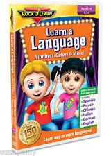 ROCK n LEARN - Learn a Language - Award Winning Educational DVD (NEW) 6 Language