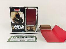 "custom vintage Star wars 12"" jawa box + inserts version 1"