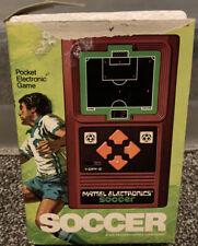 New ListingVintage 1978 Mattel Electronics Soccer W/Box Tested Works Read Description