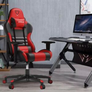 Gaming Office Chairs 180 Degree Reclining Confortable Leather PU Chair