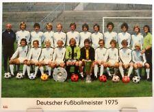 Borussia Mönchengladbach Deutscher Fußball Meister 1975 Fan Big Card Edition F18