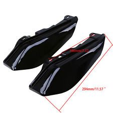 Motocross Heat Shield Mid-Frame Air Deflectors for Harley Road King Glide 97-13