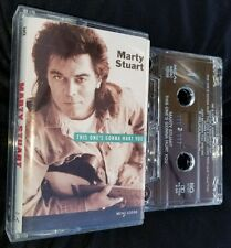 Marty Stewart This Ones Gonna Hurt You Cassette Tape RARE