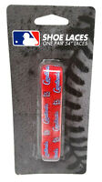 St Louis Cardinals Shoelaces Blue MLB Baseball Laces