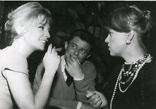 ANNETTE STROYBERG GERARD PHILIPE JEANNE MOREAU PHOTO DE PRESSE CINEMA