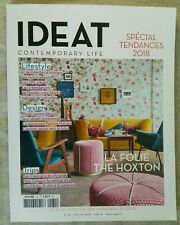 IDEAT Contemporary Life Style Magazine 131 Février 2018 Design French Edition.