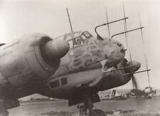 Foto Luftwaffe Flugzeug Ju 88 R-2 der 6./NJG 2 Mai 1944 in Kassel-Rothwesten