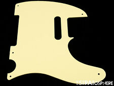 *NEW Cream 50s Telecaster PICKGUARD for Fender USA Vintage Tele 1 Ply 5 Hole