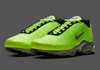 NIKE AIR MAX PLUS PREMIUM MEN SIZE 10.0 FULL VOLT SILVER NEW RARE COMFORT