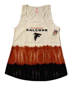New NFL Atlanta Falcons Women's Junior Tie Dye Razor Tank Shirt Size XL (15/17)