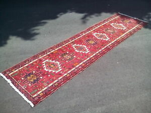 Traditional Style Carpet Runner Hallway/Other Rich Reds Vibrant Colours