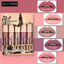 5PCS Waterproof Lipstick Set Velvet Matte Long Lasting Sexy Lip Gloss Cosmetics