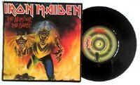 "IRON MAIDEN 1982 THE NUMBER OF THE BEAST 7"" BLACK VINYL 45 (EMI 5287)"