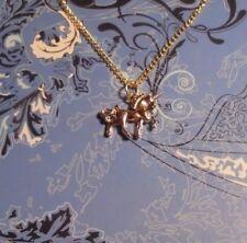 Gold Unicorn Charm Chain Necklace**~Free Ship
