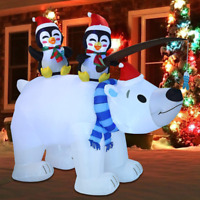 Joiedomi Christmas Inflatable Decoration 6.5 Ft Inflatable Holiday Winter Polar