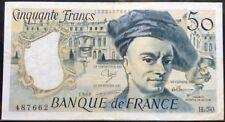 France 50 Francs H.50 487662 1988 P152d Vf