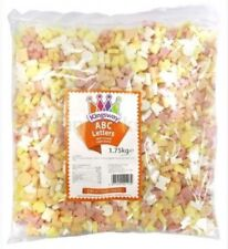 ABC Candy Letters Alphabet Letters  1.75kg  - Retro sweets pick n mix full bag