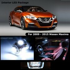 17PCS Cool White LED Bulbs Interior Light Package Kit For 2010 Nissan Maxima