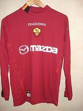 CAMISETA SHIRT MAGLIA AS ROMA DIADORA ITALIA ITALY 2003-04 MONTELLA L/S VINTAGE