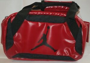 NIKE JORDAN LUNCH BAG  INSULATED 9A1848-R78 RED/BLACK COLOR