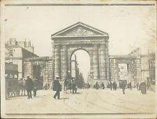 France, Porte St Julien à Bordeaux  Vintage silver print. Aquitaine  Tirage ar
