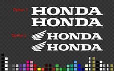 2 x Honda Decal Sticker Bike Car Helmet Motorbike 3 cm~200 cm