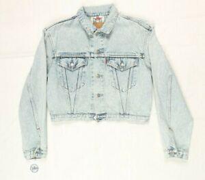 Giubbino Jeans Levi's 71167 Tg. M Usato (EBAY101) Giacca Vintage 90' Denim