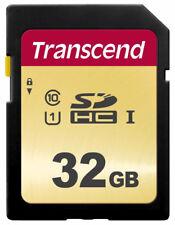 32GB Transcend 500S SDHC UHS-I SD Memory Card CL10 95MB/sec MLC Flash