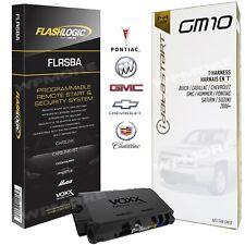 Flashlogic FLRSBA Remote Start 3X LOCK Start BUICK CHEVY CADDY GMC Model 2006+