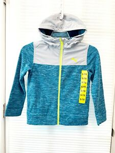 Puma Little Boy's Full Zip Hooded Jacket - New With Tag