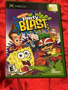 Nickelodeon Party Blast Microsoft Xbox Complete