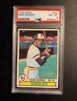 1979 Topps EDDIE MURRAY, Baltimore Orioles - PSA 8 NM-MT;  Great Appearance!