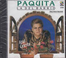 Paquita La Del Barrio Azul Celeste CD New Nuevo Sealed