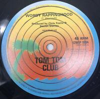 Tom Tom Club Wordy Rappinghood Vinyl Record Original 1981 Pressing 12WIP-6694