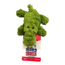 Cozie Dog Plush Squeaker Small Toy Kong Ali Alligator Crocodile Dog Toy