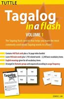 Tagalog in a Flash Kit Volume 1 Tuttle Flash Cards