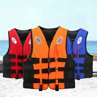 Kids Life Jacket Vest Whistle WaterSports Swimming Aid Boat Sailing Safety NEW