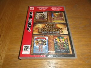 AGE OF EMPIRES COLLECTORS EDITION (PC CD)