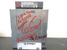 1995 1996 Ford Ranger Engine Cont Unit ECU ECM F57F12A650DLA Module 028-1B1