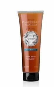 Perlier Caribbean Vanilla Almond Bath & Shower Gel  8.4 oz Tube - Sealed!