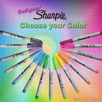 Sharpie Marker - Designer Colors - Ultra fine point permanent - Choice of Color
