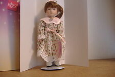 ~Diana~April~Porcelain Doll Of The Month~Handcrafted~Russ~It em No. 23004~