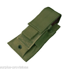 Condor MA32 Single Pistol Mag Pouch OD - Tactical clip Molle