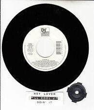 "LL COOL J Doin' It (On The Air) & Hey Lover Feat. Boyz II Men 45 rpm 7"" NEW"