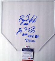 JAE KUK RYU Signed 2X Clear Base Rare Korean Auto PSA/DNA COA Chicago Cubs