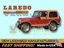 1980 1981 1982 1983 1984 Jeep Laredo CJ5 CJ7 Decals & Stripes Kit