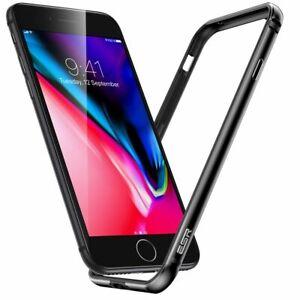 ESR Edge Guard Alloy TPU Hybrid Bumper Case for Apple iPhone SE 2020, 7, 8, Grey